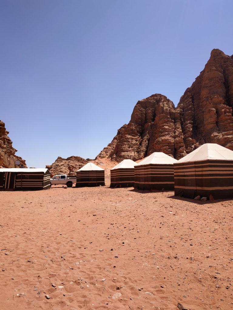 oboz beduinow wadi rum