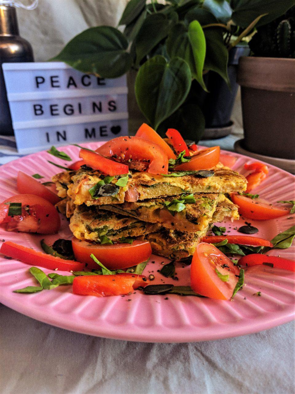 weganski omlet