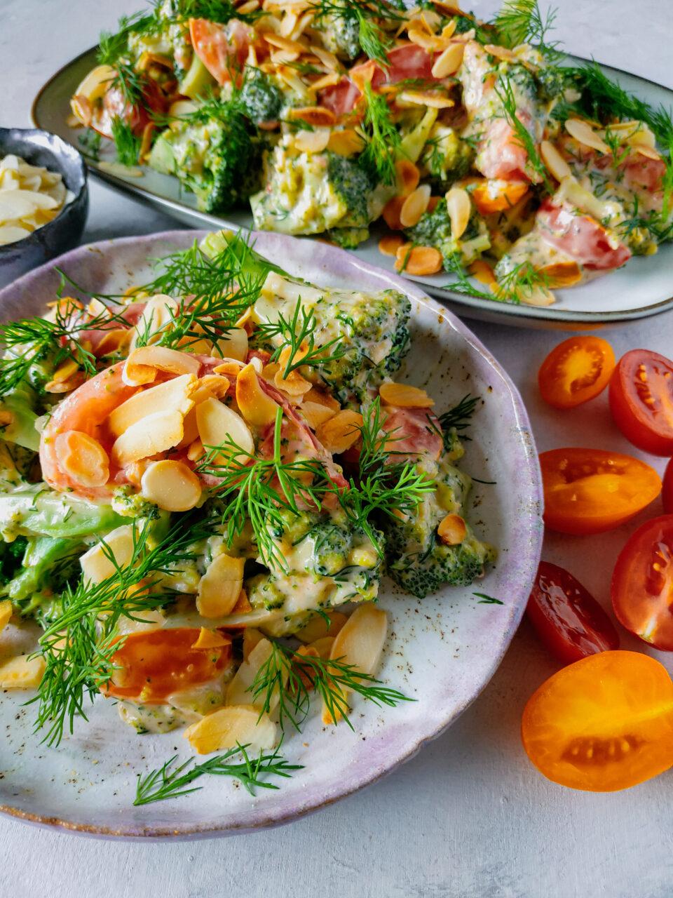 weganska salatka z majonezem meet without meat