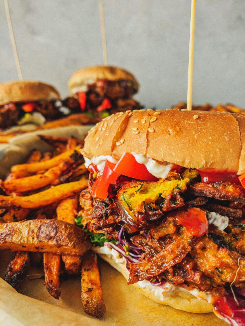Najlepszy wegański burger, jaki zrobiłam