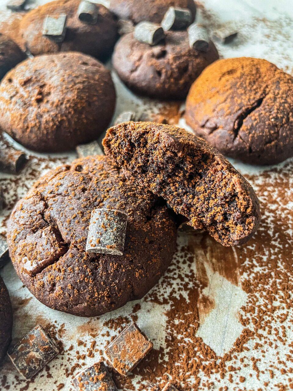 ciasteczka czekoladowe wegańskie