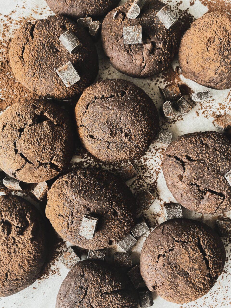 wegańskie ciasteczka czekoladowe meet without meat