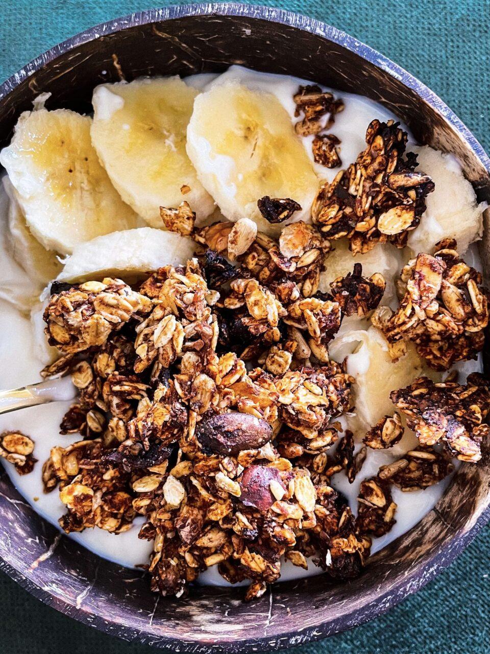 weganska granola
