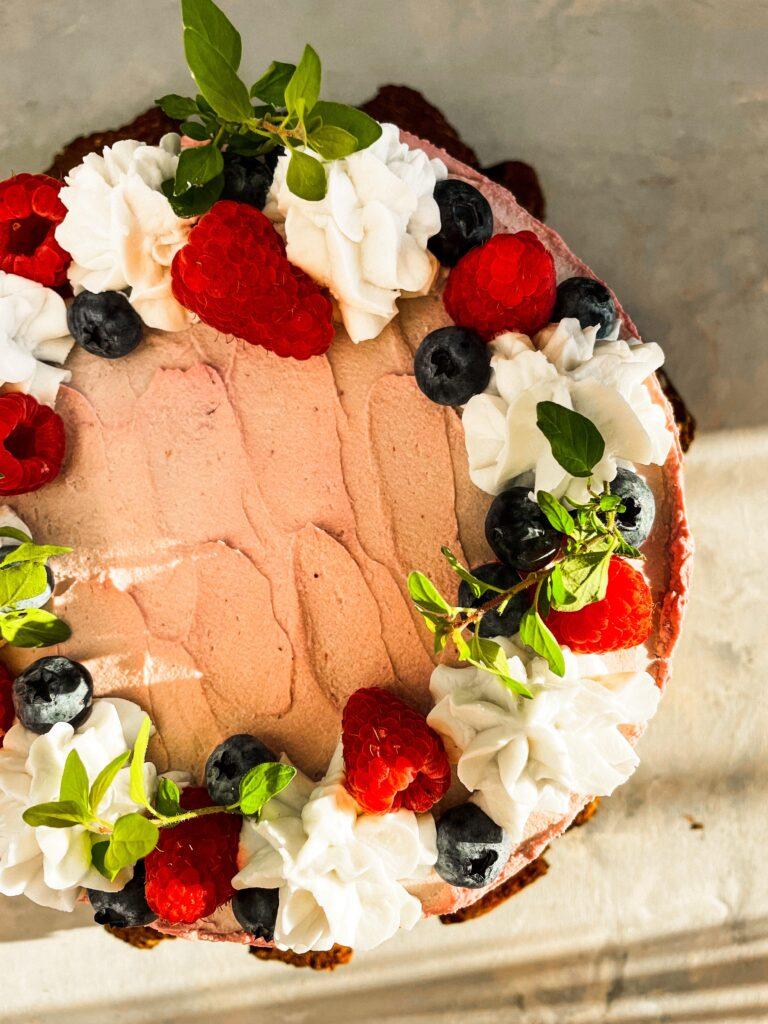 wegański tort lodz
