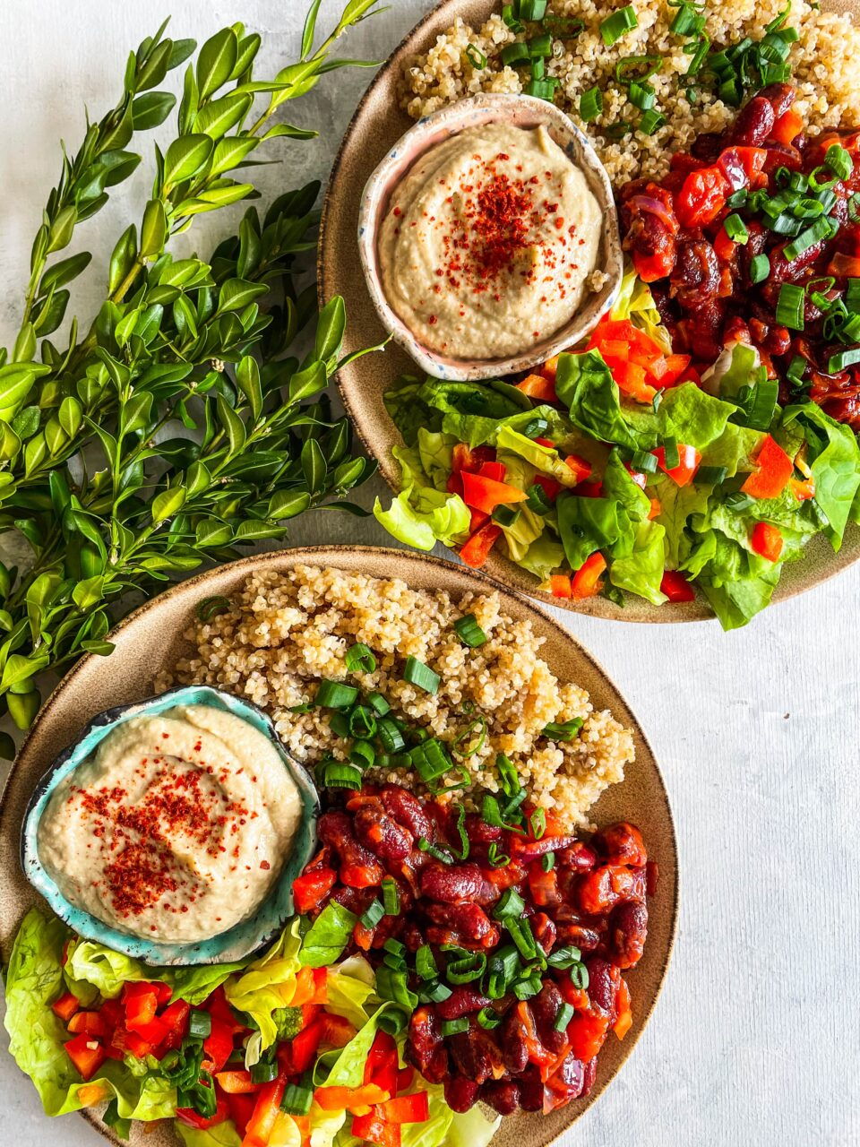 zdrowy obiad wegański